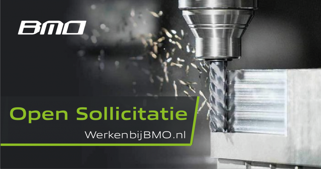 Open Sollicitatie BMO Precision Parts
